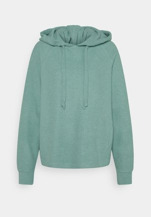 BRUSHED HOODIE - Sweat à capuche - mineral stone blue