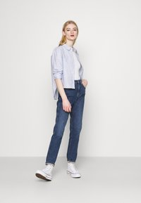ONLY - ONLLORRY LIFE STRIPE - Button-down blouse - white - 1