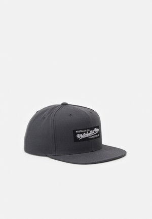 BRANDED SMALL BOX LOGO SNAPBACK - Keps - charcoal