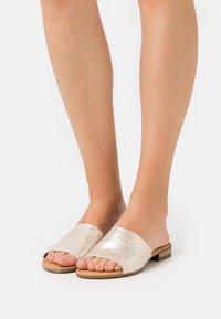 Gabor Comfort - Sandalias planas - platino - 0