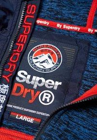 Superdry - MOUNTAIN - Zip-up hoodie - indigo navy marl - 4