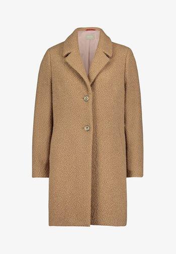 Classic coat - light camel