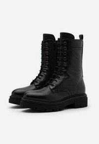 Marc O'Polo - UNDER  - Platform boots - black - 2