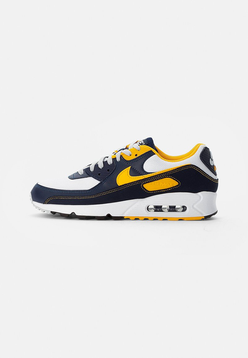 Nike Sportswear - AIR MAX - Sneakers basse - white/univ gold-midnight navy-obsidian-pure platinum-wolf grey