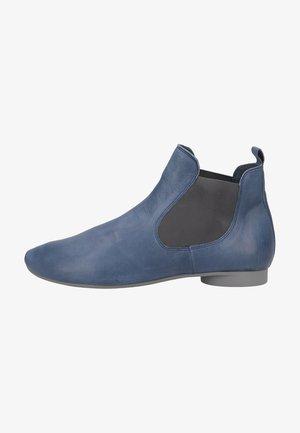 Platform ankle boots - indigo