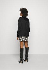 DESIGNERS REMIX - EMME SLEEVE - Button-down blouse - black - 2