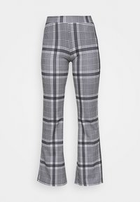 ONLFEVER FLARED PANTS  - Trousers - cloud dancer