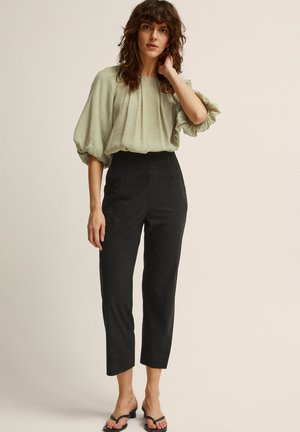 FRANCIS  - Trousers - black