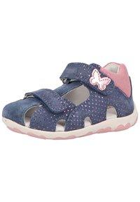 Superfit - Touch-strap shoes - blau/rosa - 1