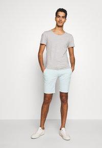 Bruuns Bazaar - DENNIS POUL - Shorts - ice - 1