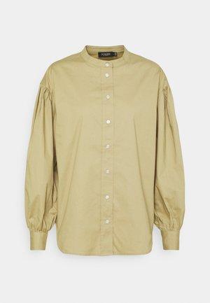 HIYA BLOUSE - Button-down blouse - gray green