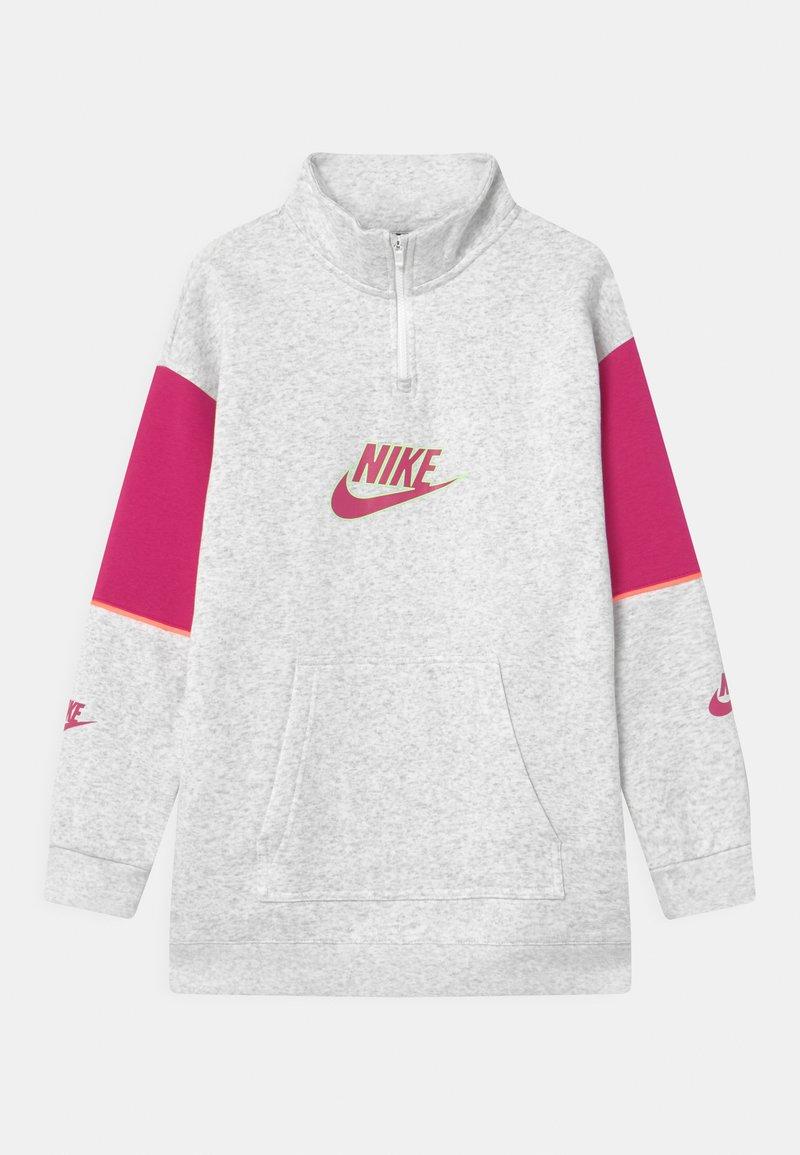 Nike Sportswear - Sudadera - birch heather/fireberry