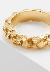 Northskull - SKULL RING BAND - Ring - gold-coloured - 3