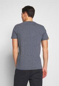 Superdry - VINTAGE CREW - Basic T-shirt - blue grindle - 2