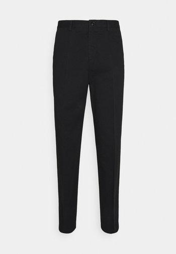 WILLIAM COTTON TROUSER - Trousers - black