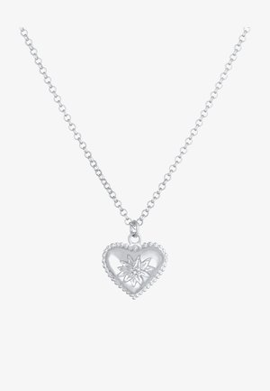 HEART - Necklace - silber