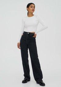 PULL&BEAR - 2 PACK - Long sleeved top - black - 5