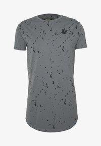 SIKSILK - SPLATTER GYM TEE - T-shirt con stampa - grey - 3