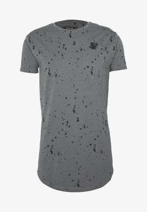 SPLATTER GYM TEE - T-shirt con stampa - grey