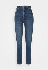 PIECES Tall - Straight leg jeans - dark blue denim - 0