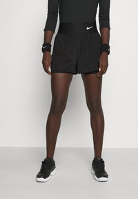 Nike Performance - SHORT - Sports shorts - black/white - 0