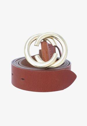 CHAIN REACTION - Belt - cognac