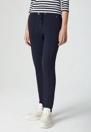 CARA - Tracksuit bottoms - navy-blau