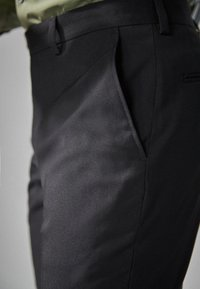 Next - STRETCH TONIC SUIT: TROUSERS-SLIM FIT - Pantaloni eleganti - black - 2