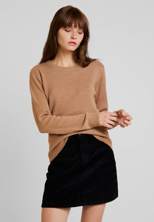 VIRIL O-NECK - Jumper - tigers eye/melange