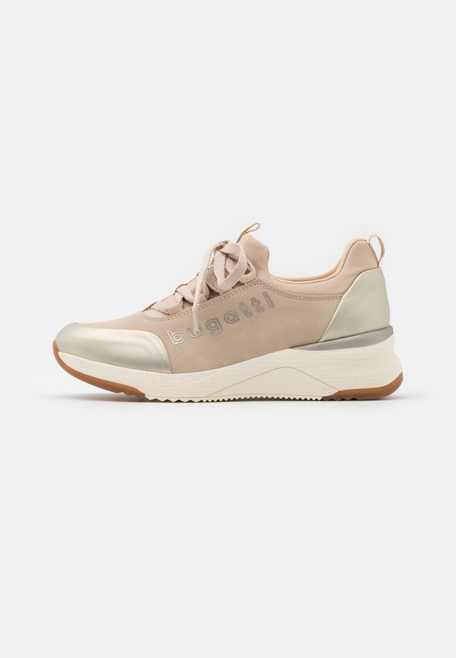 RISE - Sneakers laag - beige/gold