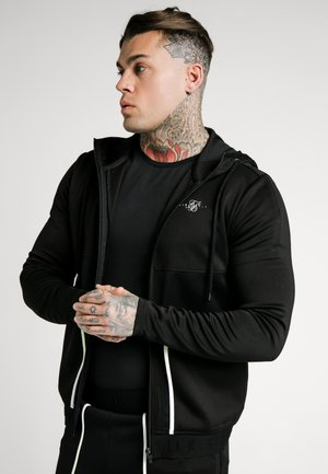 LEGACY FADE ZIP THROUGH HOODIE - Trainingsvest - black