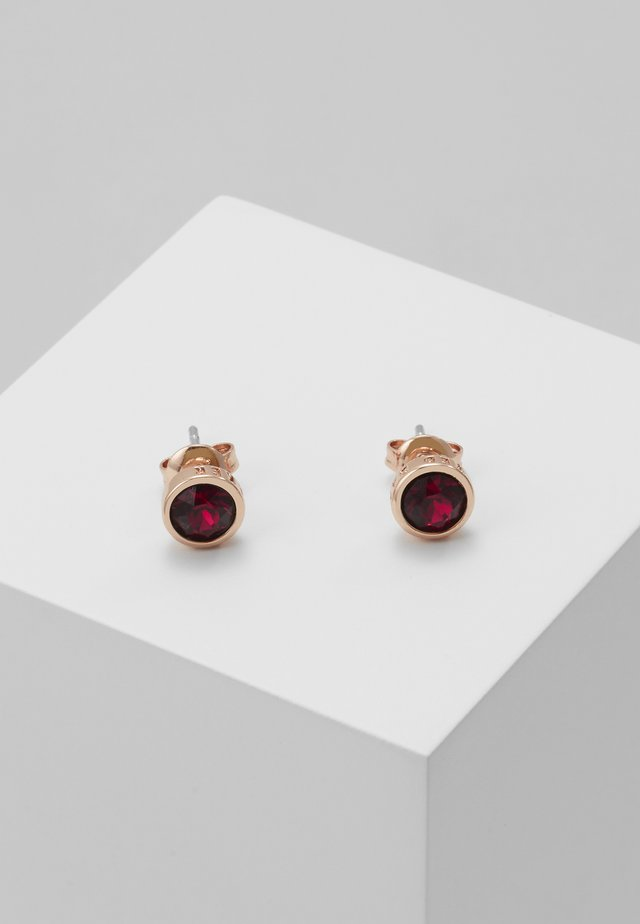 SINAA STUD EARRING - Náušnice - rose gold-coloured