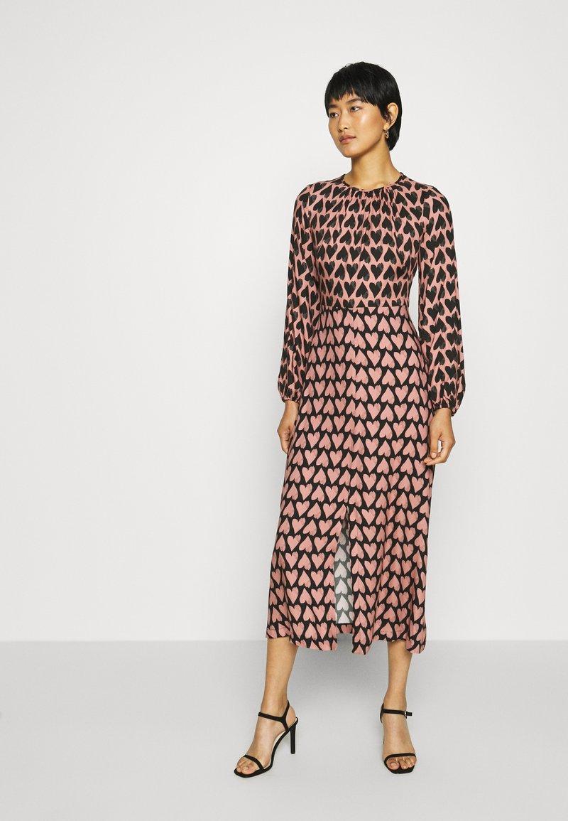 Closet - CLOSET PUFF SLEEVE DRESS - Day dress - pink