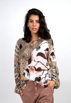 Blouse - rosewood