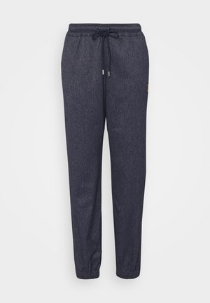 PANT - Tracksuit bottoms - obsidian/silver/wheat