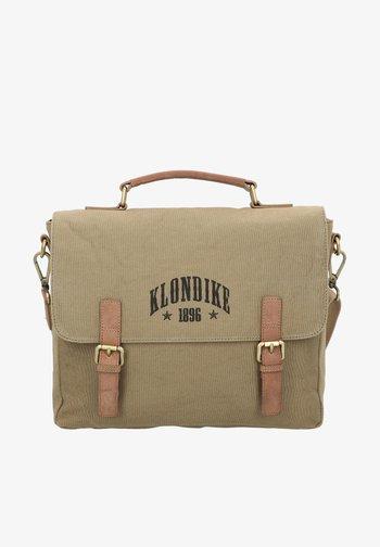 NATE  - Briefcase - khaki