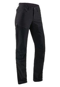 Haglöfs - MID FLEX PANT - Outdoor trousers - true black solid long - 2
