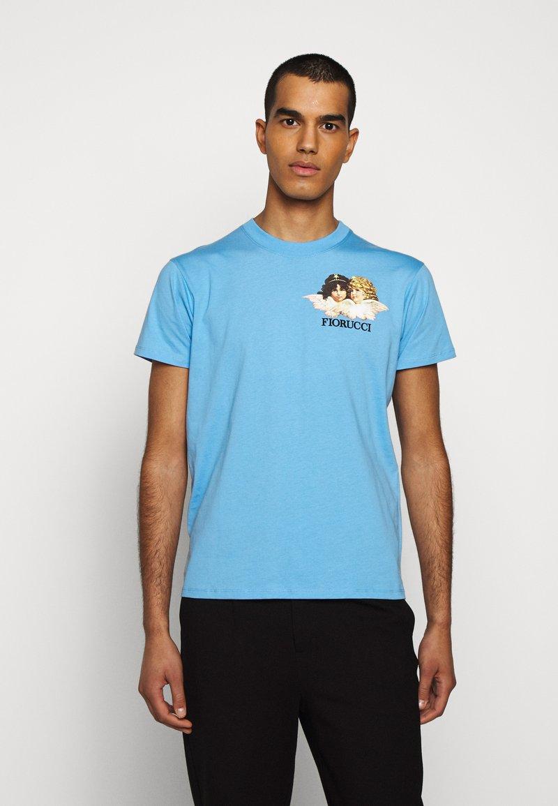 Fiorucci - NEW ANGELS TEE  - Print T-shirt - light blue