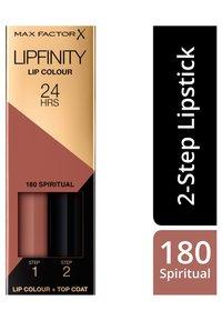 Max Factor - LIPFINITY - Liquid lipstick - 180 spiritual - 1