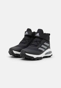 adidas Performance - FORTARUN ATR UNISEX - Obuwie hikingowe - core black/silver metallic/footwear white - 1