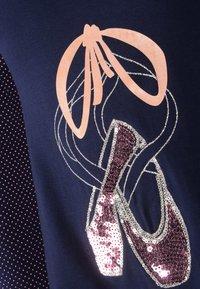 happy girls - 2IN1 EINHORN - Day dress - navy - 1