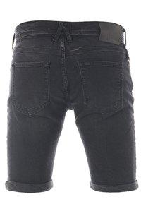 LTB - CORVIN - Denim shorts - black denim - 3