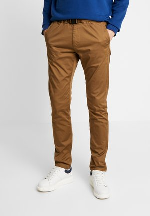 TECHNICAL CHINO - Chinosy - light creme beige