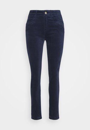 ESSENTIAL STRETCH - Trousers - peacoat