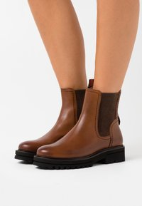 Marc O'Polo - LICIA - Ankle boots - cognac - 0