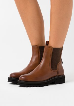 LICIA - Ankle boots - cognac