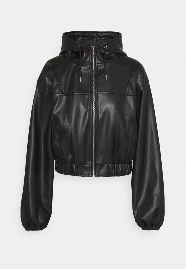 SPORT JACKET - Giacca in similpelle - black