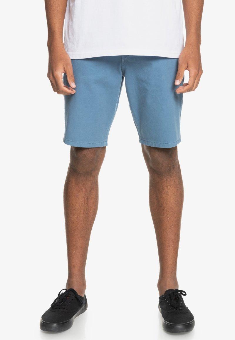 Quiksilver - Denim shorts - captains blue