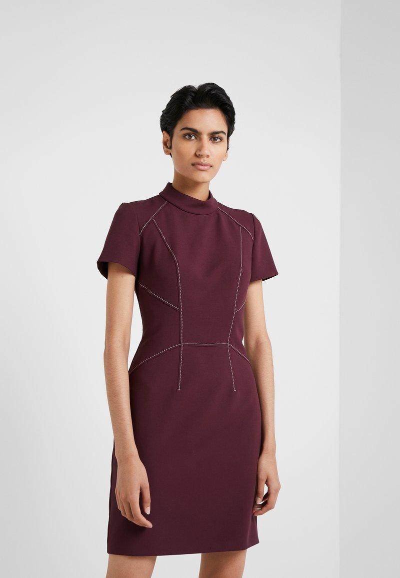 HUGO - KABECCI - Shift dress - medium red