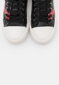 Love Moschino - LABEL SOLE - Trainers - black - 6